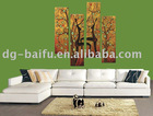 canvas fabric home decoration oil paintings BF