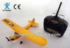 2.4G 3 channel J3 RC Plane,J3 Cub RC Glider