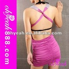 Wholsale promotion lady's fashion sexy mini dress