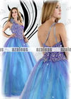 AZP029 One shoulder Sweetheart Ball gown Organza Prom dress 2012