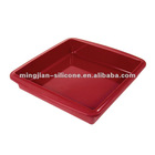 2012 hot sale Silicone Square Cake Pans for gift