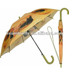 umbrella with shoulder strap