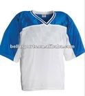 100% Polyester Nylon Tricot/Mesh Lacrosse Jersey.