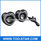 FM Radio USB SD Card Reader MP3 MP4 Speaker Heart Shape Speakers with Volume Control
