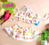 2013 New style baby swimwear two-piece hot sale swimming suit