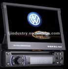 7 Inch One DIN Car DVD GPS Player With Detachable Front Panel