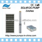 solar borehole pump for water