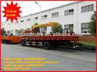 dongfeng 6*4 12 ton crane truck