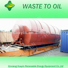 New patented continuous pyrolysis tire oil machine