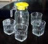 Glass Drink Set