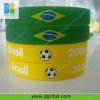 cheap custom silicone flag wristband