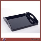 Smooth Polished Carved Exquisite Acrylic Food/Cake Tray