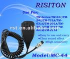 Interphone Microphone MC-44 hand microphone for TM-231/241walkie talkie