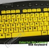 yellow big letter children keyboard WKB-M818B