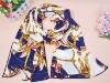 Wholesale beautiful flower fashion chiffon scarf printed
