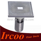 High Quality Double sealing Brass Floor drain