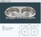 Stainless steel kitchen sink(JZ-326)