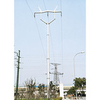 Single Line Steel Power Pole (220kV)
