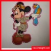 3D cartoon rubber pvc fridge magnet