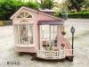 diy Miniature wood house ,dolls toy weeden house --Italian honeymoon trip