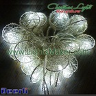 Decored 10L White LED String Lights
