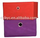 folding non-woven storage box