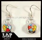 Fashion Stainless steel MIillefiori Earring LF-SSE-56