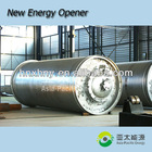 2012-The newest technology with max capacity waste rubber pyrolysis plant