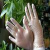 disposable vinyl gloves/vinyl powder free or powdered gloves