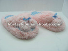 fuzzy flip flop slippers micro terry soft ladies fashion flip flop slippers