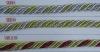 6 MM diameter shiny metallic twisted cords