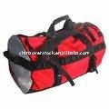 Durable travel bag/wheeled duffel bag with logo