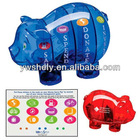 plastic piggy coin bank