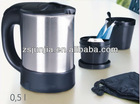 0.5L Stainless Steel Travel Kettle
