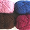 100% wool hand knitting yarn