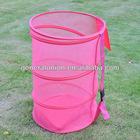 Folding laundry bin, mesh laundry basket, high quality