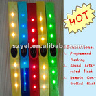 2012 Newest Hot Selling LED Bracelet, LED Remote Control Bracelet, EL Lighting Up Bracelet
