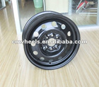 Black Steel Rims for Snow Tyres