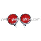 red motorcycle round led lamp