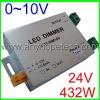 PWM signal 0~10V / 18A 1 channel / 12v wireless led dimmer