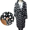 Hot sale coral fleece thermal bathrobe fleece sleepwear
