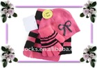 Kid Acrylic Knit Scarf Hats &Glove Sets