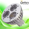 CE&RoHS Semi 3w mr16 lamp spotlight fixture