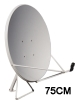 75CM ku-band satellite antenna