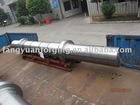 wind equipment forged Turbine step shaft