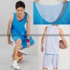 Plain Reversible basketball jerseys ,mesh sportwear supplier, customize printing