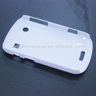 PC white case for blackberry 9900 case material