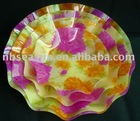 Colourful acrylic fruit tray(RDG101)