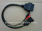 3PIN Fiat 3 Pin Alfa Lancia to OBD2 16Pin Adapter Cable
