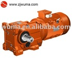 WK series helical gear reducer
